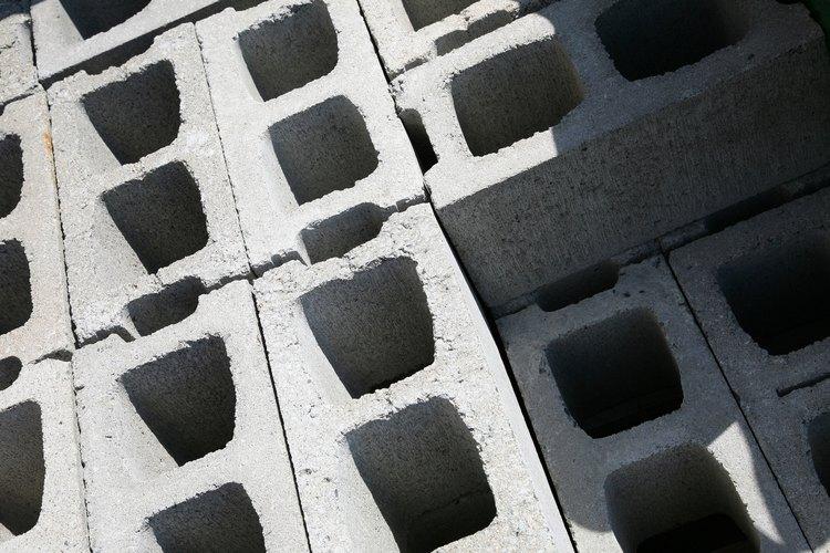 Bloques de concreto.