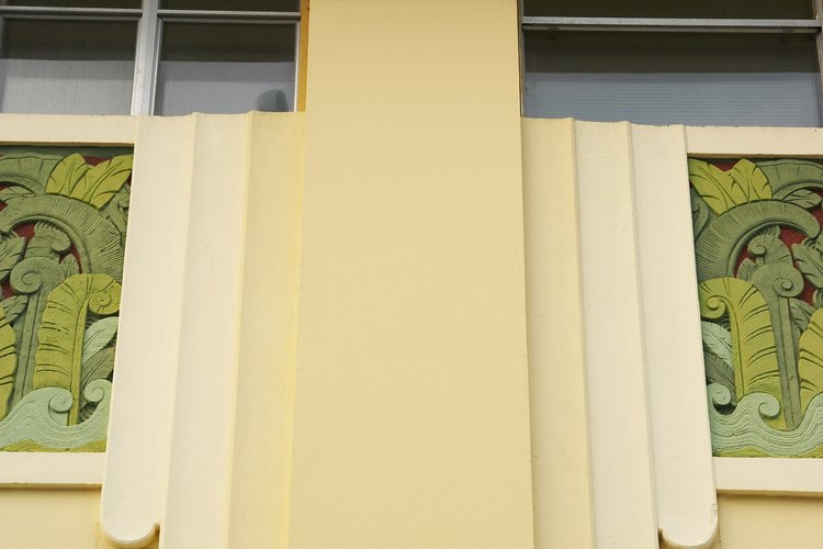 El estilo Art Decó fue popular en la década de 1920.