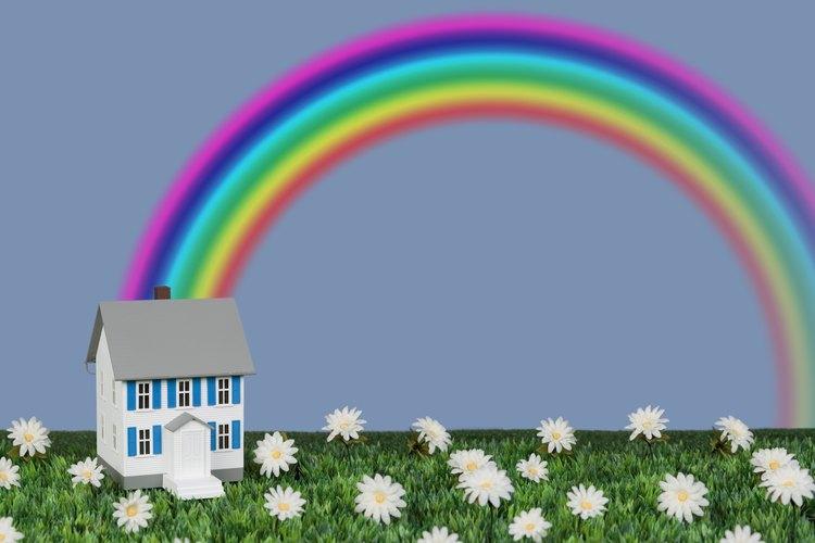 Un arco iris es una señal del pacto con Dios.