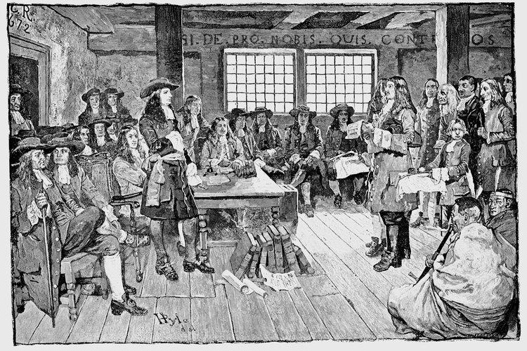 William Penn fundó la Provincia de los cuáqueros.