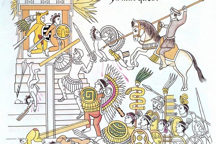 Los caballos españoles ayudaron a condenar a los Aztecas.
