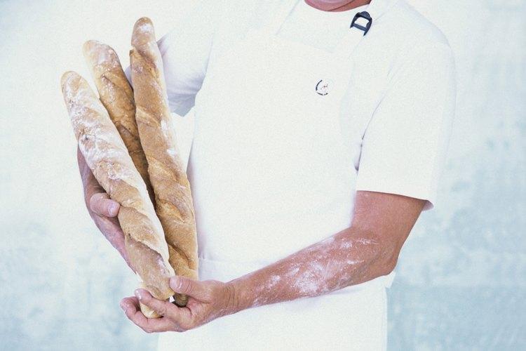 La levadura seca activa ayuda al proceso de leudado del pan.