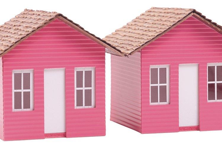C mo hacer tejas de arcilla de papel para una casa de mu eca - Como hacer una casa de carton pequena ...