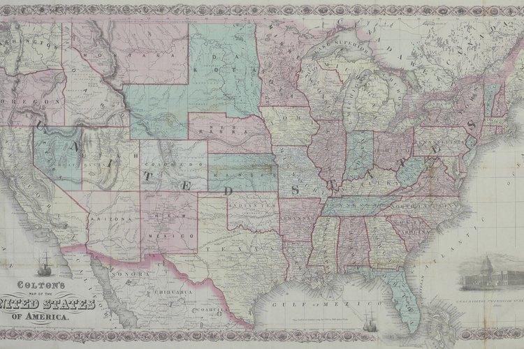 Los estados confederados de América eran los 11 estados que oficialmente se separaron de la Unión, entre diciembre de 1860 y abril 1861.