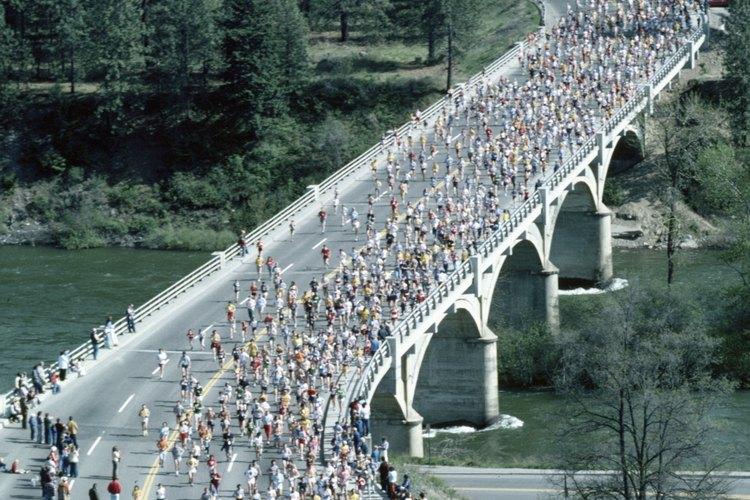 Las caminatas o carreras pueden ser excelentes eventos para recaudar fondos.