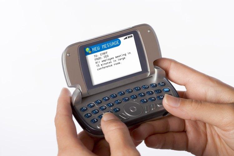 Un mensaje de texto no debe superar los 160 caracteres.