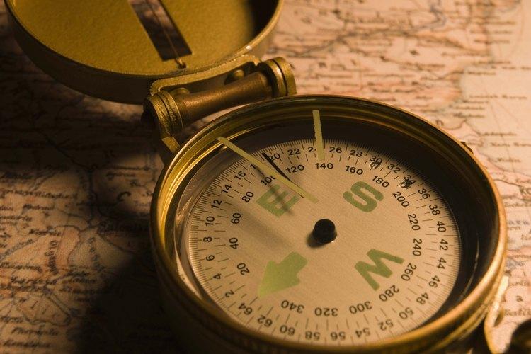Una brújula es una herramienta geográfica direccional.
