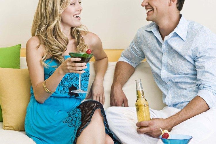 Conserva la conversación fluida con tu novia.