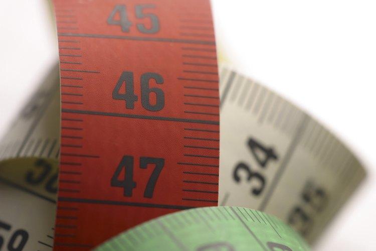 Las cintas métricas miden longitud y ancho.