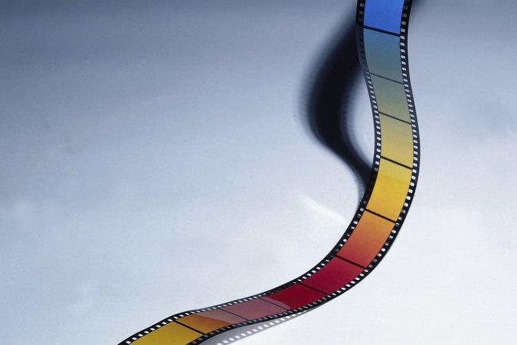 Los acetatos se usan para elaborar películas.