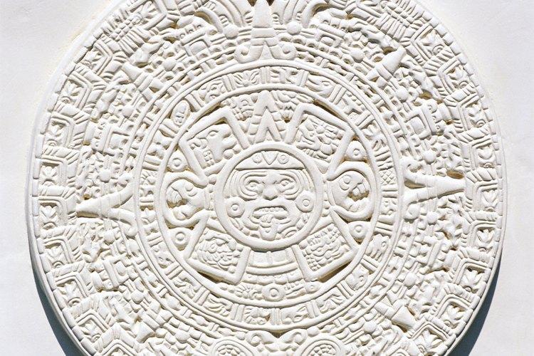 El calendario azteca fue una de las notables creaciones de los antiguos habitantes de México.