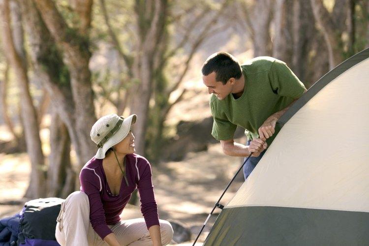Los campamentos alejados y rudimentarios se pueden encontrar en Arizona.