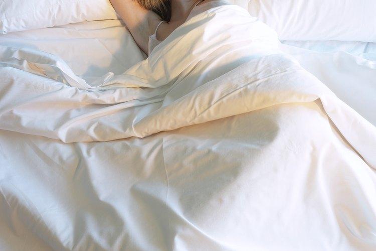 Lava las sábanas al menos una vez cada semana.