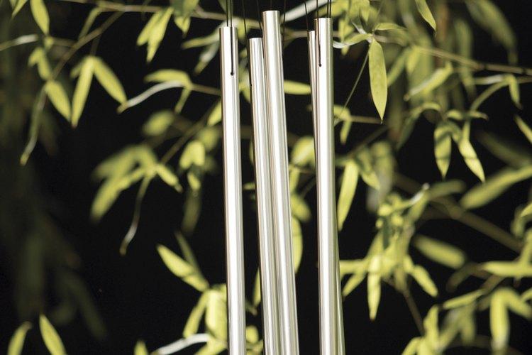 Las campanas de viento pueden alejar la mala suerte y los malos espíritus, dice la tradición del feng shui.