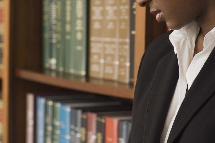 Los abogados civiles manejan una gran cantidad de casos no-criminales.