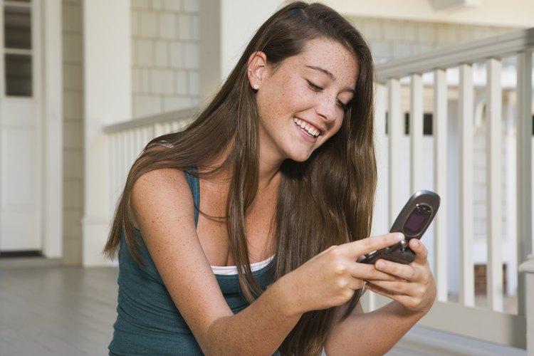 Los teléfonos celulares pueden tener una gran influencia en el comportamiento de los jóvenes.
