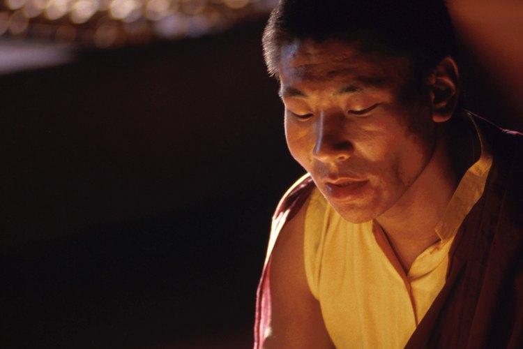 La túnica de monje tradicional data de la época de Buda.