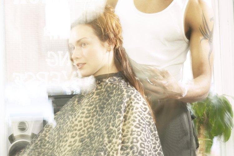 Identifica los cuatro tipos básicos de cortes de cabello.
