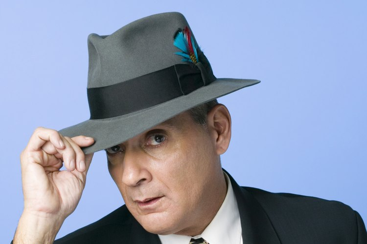 Sombrero Fedora clásico.