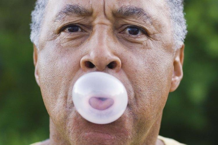 Existen muchas variedades de goma de mascar.