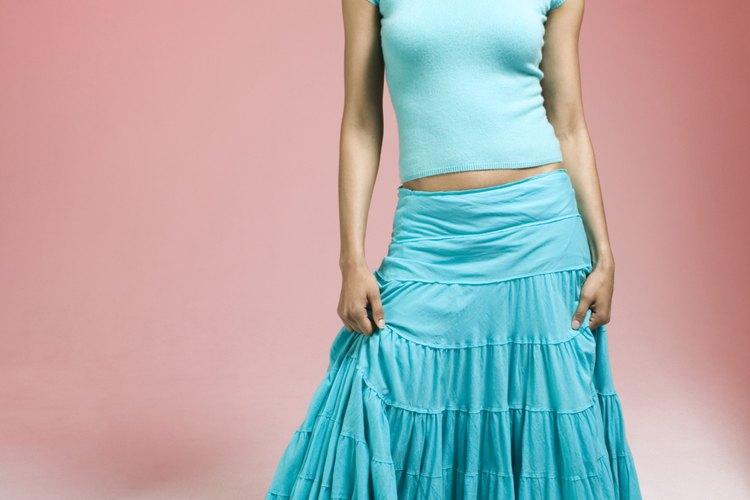 Un ajuste simple arregla una falda demasiado grande.