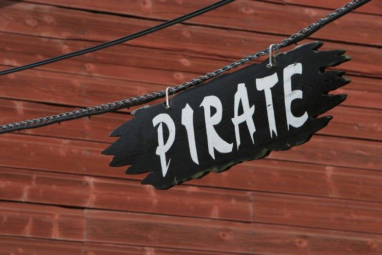 Sólo se permiten piratas en tu fiesta.