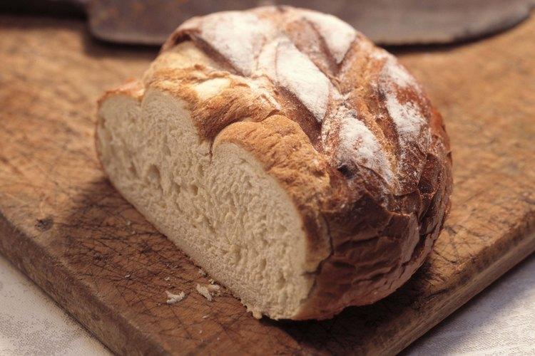 El pan de masa fermentada obtiene su sabor y textura distintivo del iniciador.