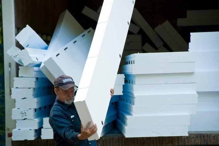 Los paneles aislantes de espuma de poliestireno pueden aislar tu hogar.