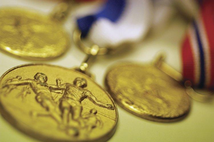 La medalla de oro de los Juegos Olímpicos