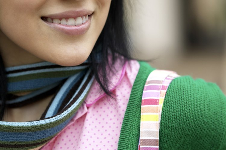 Asegúrate de no apretar tu bufanda.