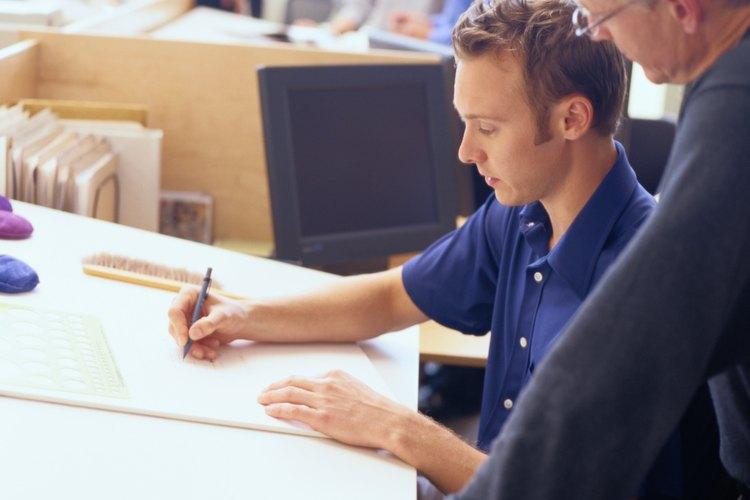 Los redactores cambian dibujos relacionados o listas de materiales.