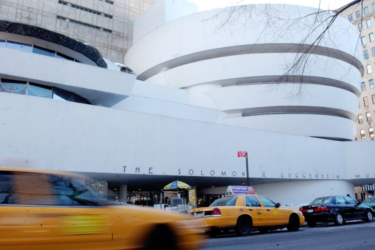Frank Lloyd Wright diseñó la circular del Museo Guggenheim.
