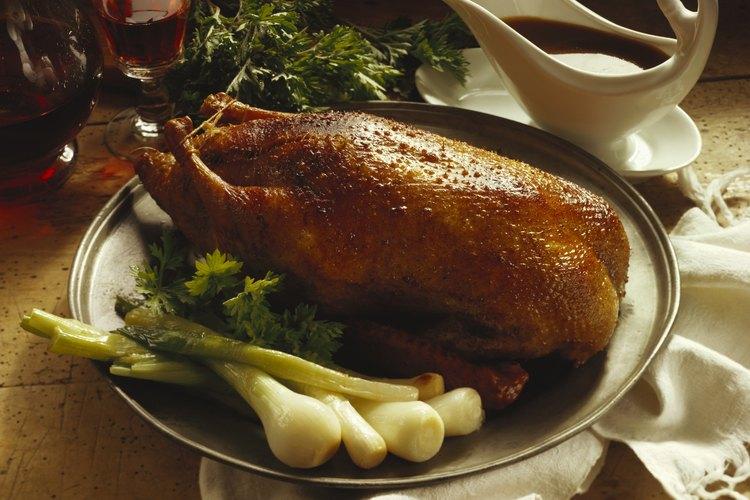 El pato posee una carne tierna y sabrosa.