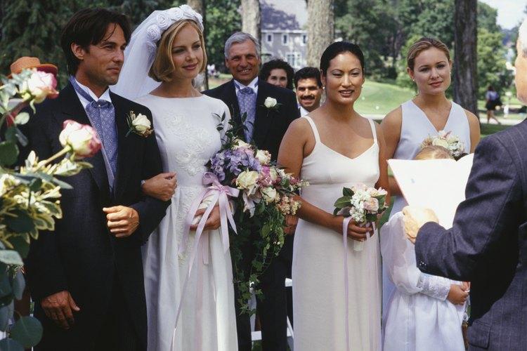 Una boda pequeña tiene sus ventajas.
