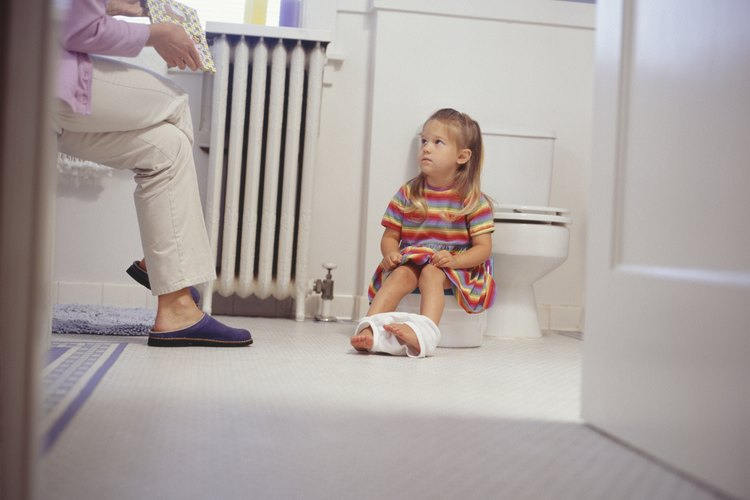 Ir al baño es un gran logro para un pequeño.