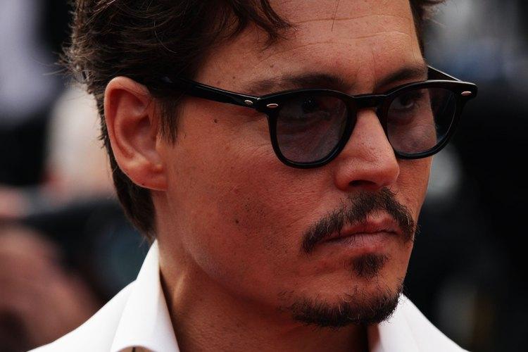 Johnny Depp ha ayudado a popularizar la barba francesa en Estados Unidos.