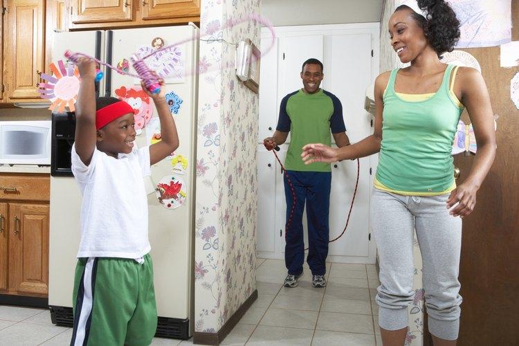 Los niños de tercer grado pueden planificar actividades de entrenamiento para sus familias.