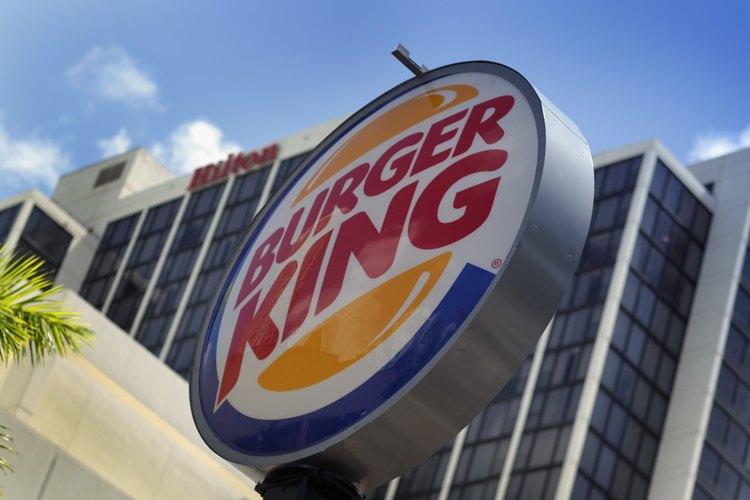 Burger King es una cadena de restaurantes de comida rápida.