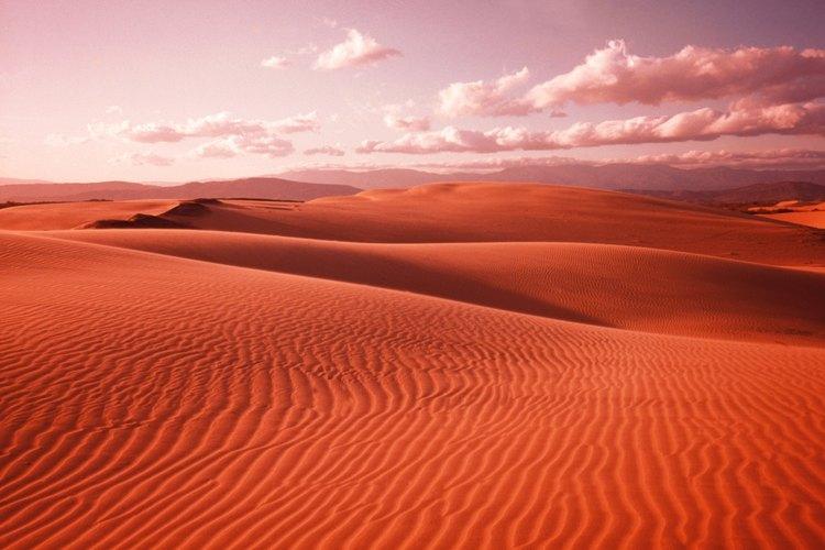 El desierto de California es una imagen muy diferente a la de las montañas en este vasto estado.