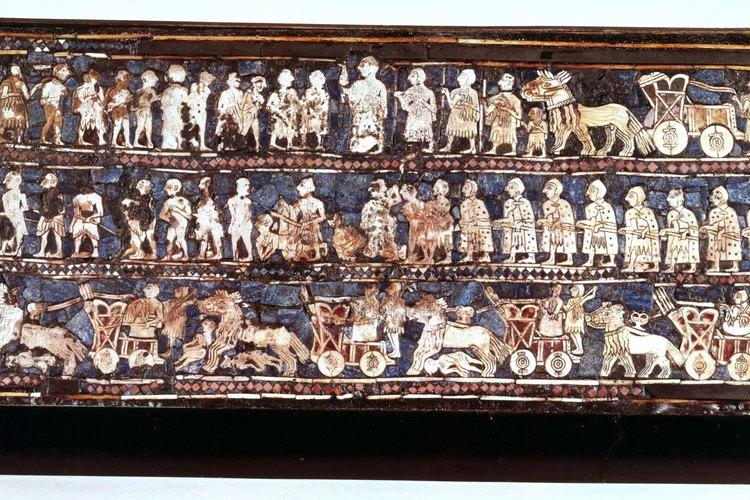 Las sociedades de la antigua Mesopotamia eran ingeniosas, pero menos estables y prósperas que Egipto.