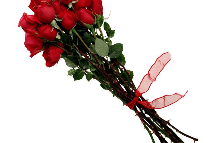 Las rosas son para el romance.