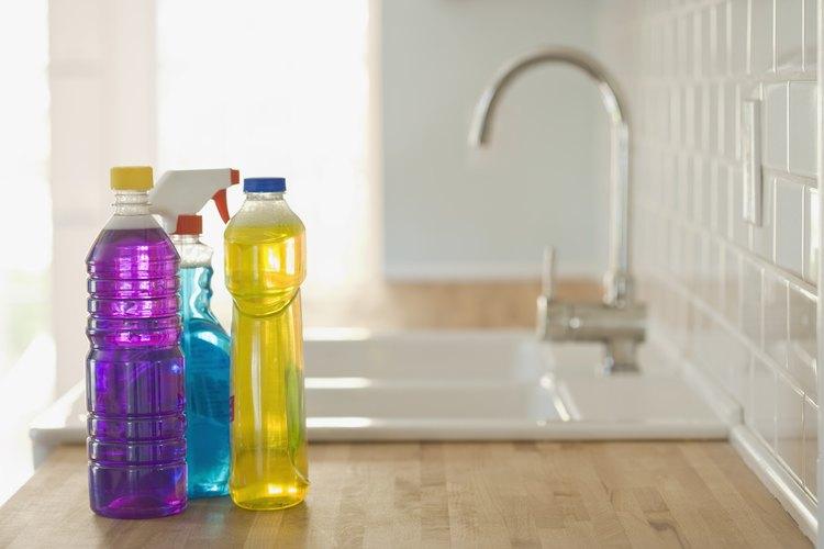 Algunos químicos de limpieza son una fuente significativa de fósforo.