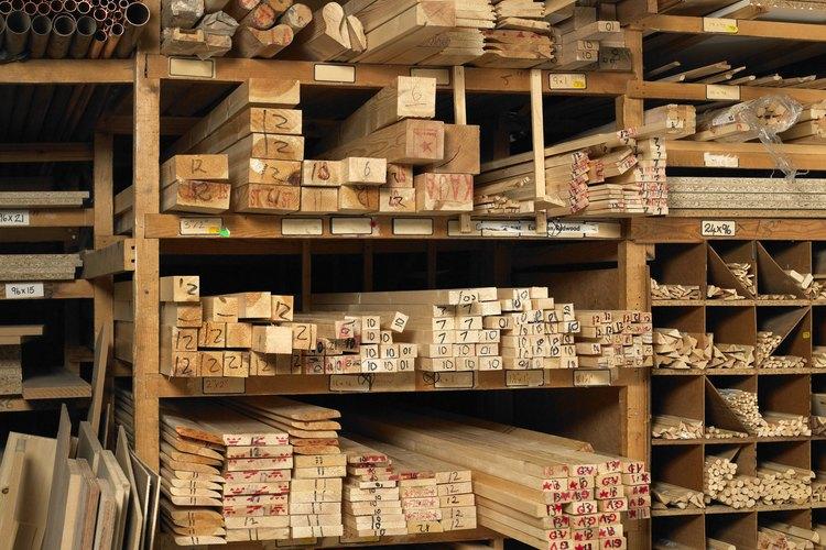Diferentes placas de madera.