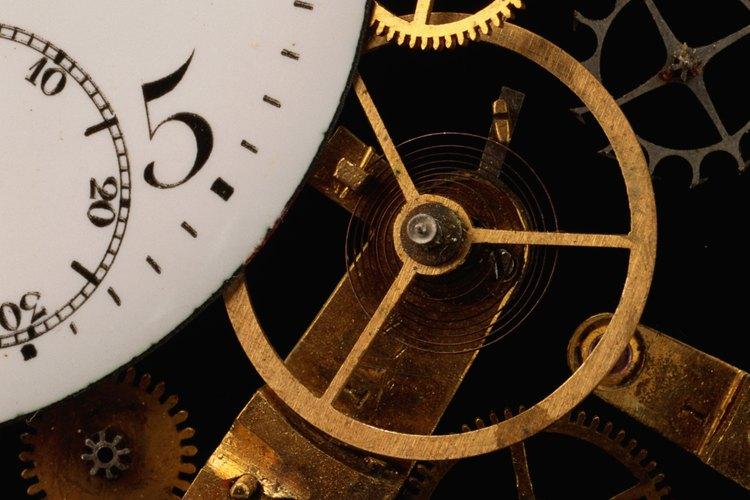 Los relojes de cuerda fueron en su tiempo un prodigio de la tecnología.