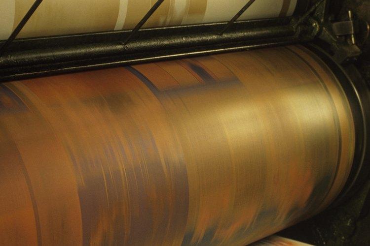 La impresión en offset es un proceso que se realiza en varios pasos.