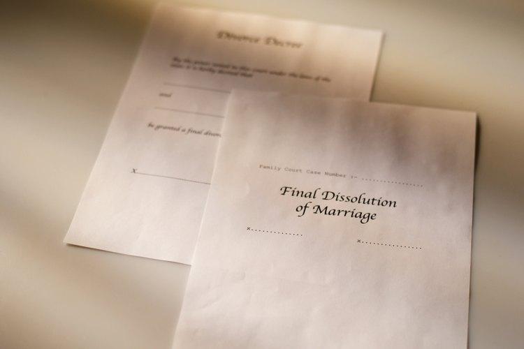 Asegúrate de que tu divorcio se finalice antes de volver a casarte.