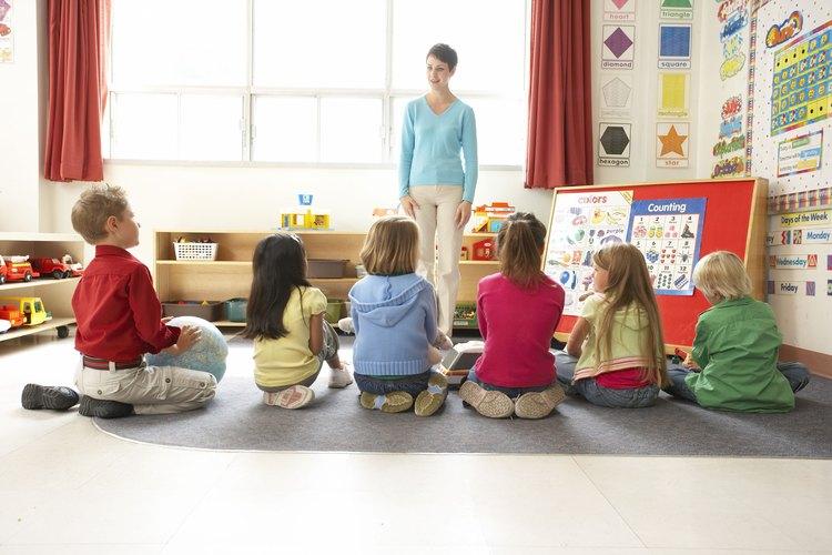 Las reglas claras y consecuencias dejan que los niños sepan que esperar en el aula.