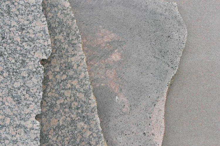 Un pesado tablero de granito necesita una base fuerte.