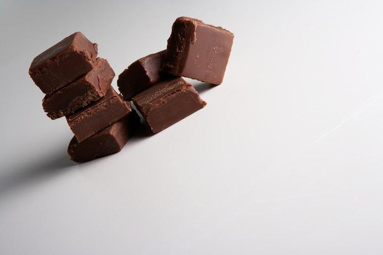 La mayoría del dulce de azúcar tiene base de chocolate.