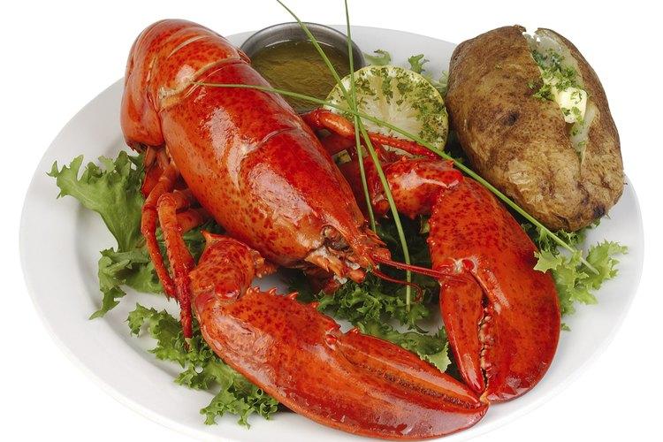 Esta comida puede lograrse sin que la langosta sufra mucho dolor.